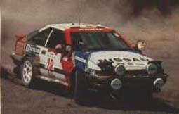 S12 Gazelle RS-R Rally Car