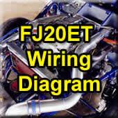 FJ20ET DR30 Wiring Diagram